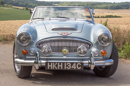 1965 Austin Healey 3000 MKIII | Original Healey Blue, High Spec SOLD (picture 2 of 6)