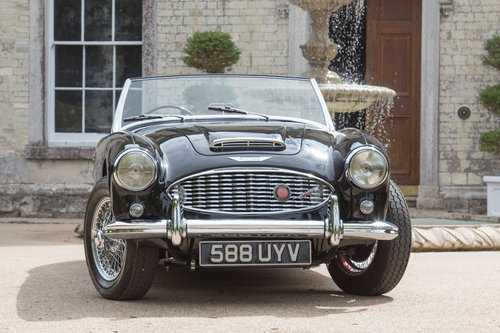1959 Austin Healey 3000 MK1 (BN7) Two-Seater | Rare, Perfect SOLD (picture 2 of 6)