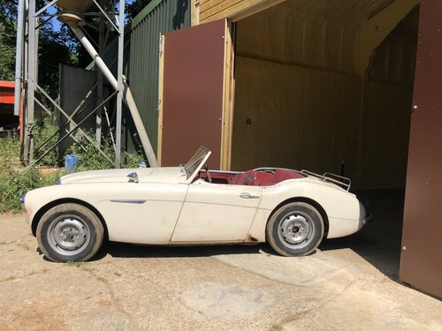 1959 Austin Healey 100/6 Project SOLD (picture 2 of 6)