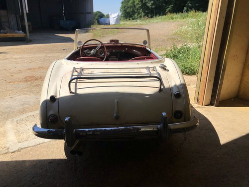1959 Austin Healey 100/6 Project SOLD (picture 3 of 6)