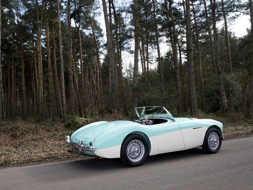 Austin Healey 100/4 - 1956 BN2 Factory Le Mans 100M For Sale (picture 2 of 6)