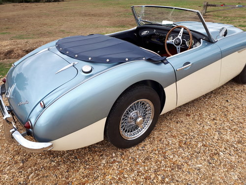 1957 Austin Healey 100-6 with matching numbers For Sale (picture 3 of 6)
