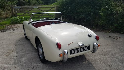 1960 Austin Healey Frogeye Sprite SOLD (picture 3 of 6)