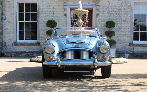 1967 Austin Healey 3000 MKIII BJ8   Restoration Project SOLD (picture 1 of 5)