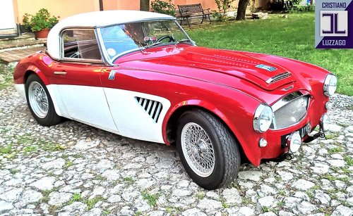 EXCEPTIONAL 1960 AUSTIN HEALEY 3000 BN7 with Rawles Motorspo For Sale (picture 2 of 6)