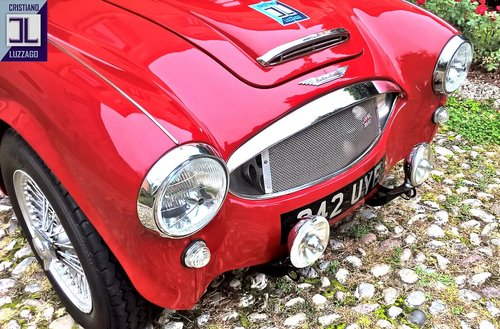 EXCEPTIONAL 1960 AUSTIN HEALEY 3000 BN7 with Rawles Motorspo For Sale (picture 5 of 6)