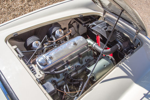 1955 Austin Healey 100   UK RHD, Ivory White SOLD (picture 6 of 6)