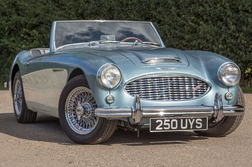 1959 Austin Healey 3000 MkI | Healey Blue, Restored 2017 SOLD (picture 1 of 6)