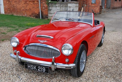 1961 Austin-Healey 3000 MkII tri-carb/BT7, restored, 4-owners For Sale (picture 1 of 6)