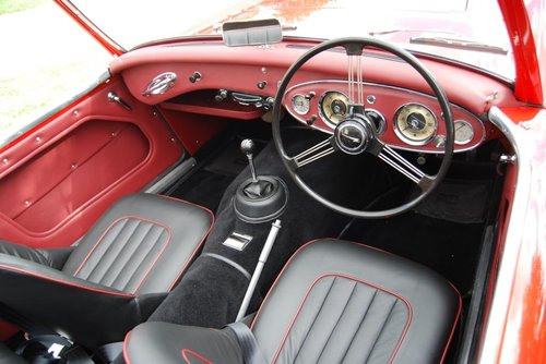 1961 Austin-Healey 3000 MkII tri-carb/BT7, restored, 4-owners For Sale (picture 2 of 6)