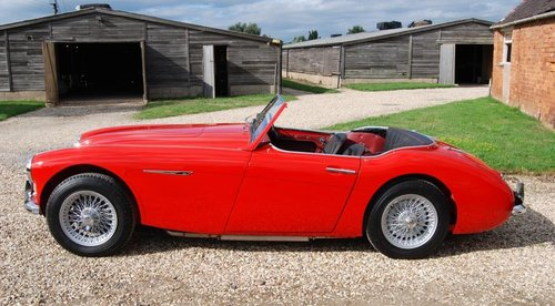 1961 Austin-Healey 3000 MkII tri-carb/BT7, restored, 4-owners For Sale (picture 5 of 6)