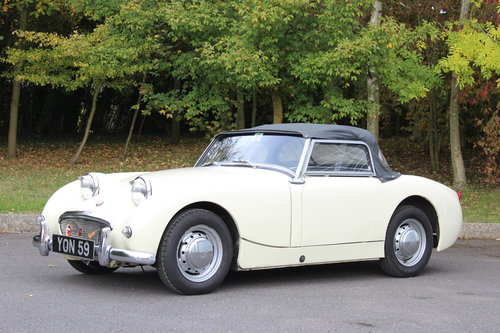 1959 AUSTIN HEALEY 'FROG EYE' SPRITE.'SOLD' MORE REQUIRED SOLD (picture 1 of 6)