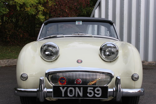 1959 AUSTIN HEALEY 'FROG EYE' SPRITE.'SOLD' MORE REQUIRED SOLD (picture 2 of 6)
