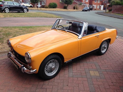 1970 Austin Healey Sprite Heritage Shell Rebuild SOLD  SOLD (picture 1 of 6)