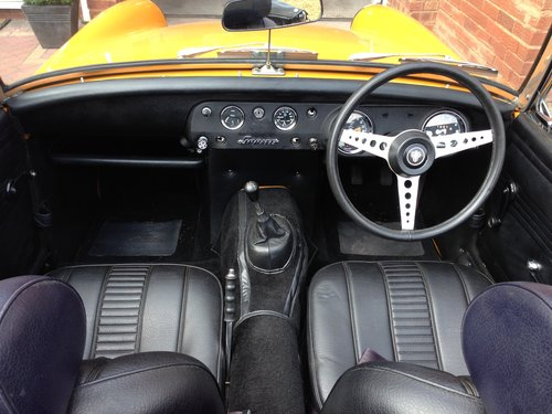 1970 Austin Healey Sprite Heritage Shell Rebuild SOLD  SOLD (picture 6 of 6)