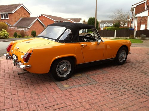 1970 Austin Healey Sprite Heritage Shell Rebuild SOLD  SOLD (picture 3 of 6)