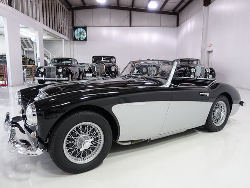 1957 Austin-Healey 100-6 BN4 Roadster For Sale (picture 1 of 6)