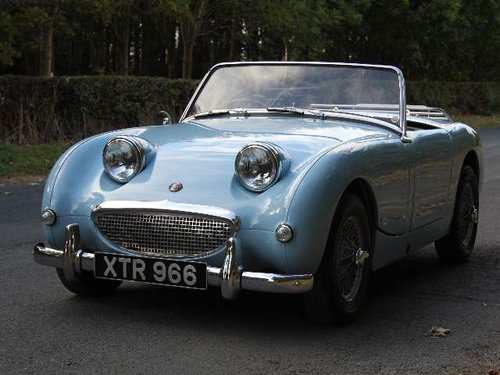 1959 Austin Healey Frogeye, UK car, 1275cc, disc brakes, ali rad SOLD (picture 2 of 6)