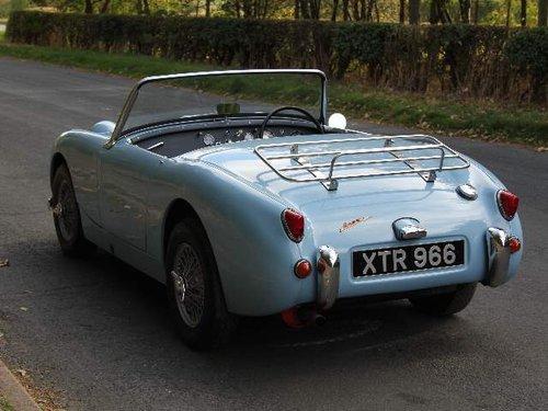 1959 Austin Healey Frogeye, UK car, 1275cc, disc brakes, ali rad SOLD (picture 3 of 6)