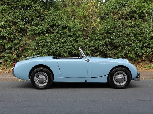 1959 Austin Healey Frogeye, UK car, 1275cc, disc brakes, ali rad SOLD (picture 4 of 6)
