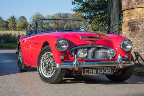 1964 Austin Healey 3000 MkIII BJ8 Phase I | 1 of 108 RHD cars SOLD (picture 1 of 6)