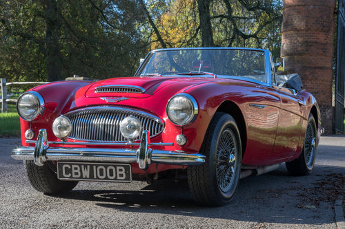 1964 Austin Healey 3000 MkIII BJ8 Phase I | 1 of 108 RHD cars SOLD (picture 3 of 6)