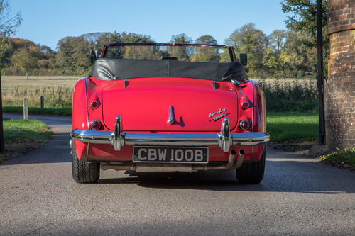 1964 Austin Healey 3000 MkIII BJ8 Phase I | 1 of 108 RHD cars SOLD (picture 4 of 6)
