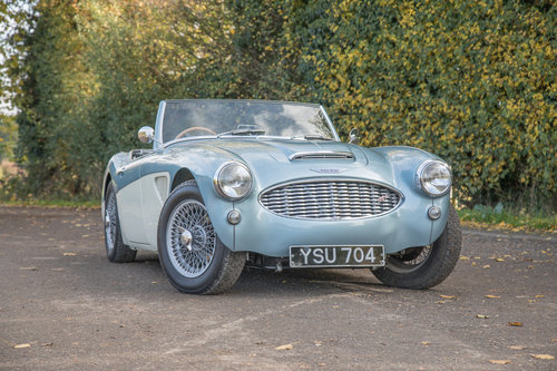 1956 Austin Healey 100/6 | 5 Speed, Performance Engine SOLD (picture 1 of 6)