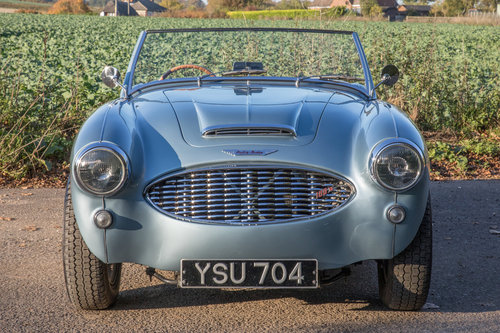 1956 Austin Healey 100/6 | 5 Speed, Performance Engine SOLD (picture 2 of 6)