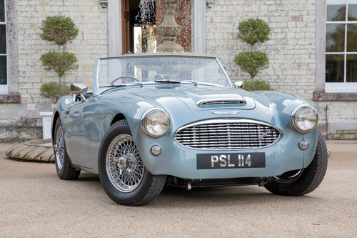 1956 Austin Healey 100/6 | Original RHD UK Car, Healey Blue SOLD (picture 1 of 6)