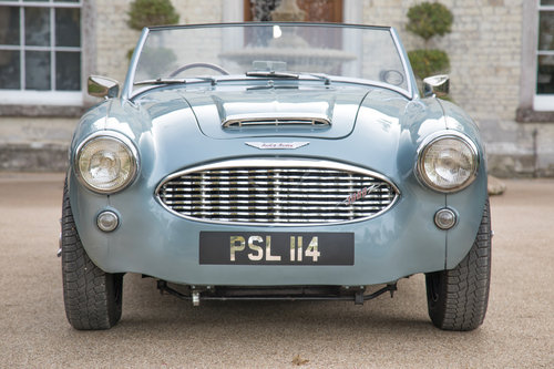 1956 Austin Healey 100/6 | Original RHD UK Car, Healey Blue SOLD (picture 2 of 6)
