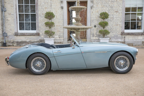 1956 Austin Healey 100/6 | Original RHD UK Car, Healey Blue SOLD (picture 3 of 6)