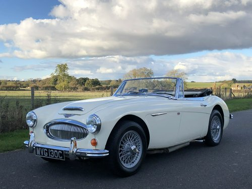 1965 Austin-Healey 3000 MkIII BJ8 SOLD (picture 1 of 6)