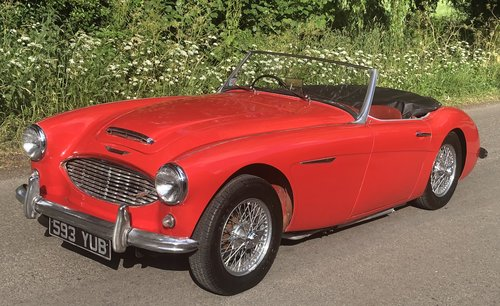 1960 AUSTIN HEALEY 3000 BT7 documented 33k miles History from new For Sale (picture 1 of 6)