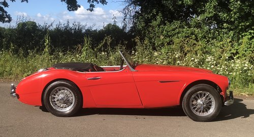 1960 AUSTIN HEALEY 3000 BT7 documented 33k miles History from new For Sale (picture 3 of 6)