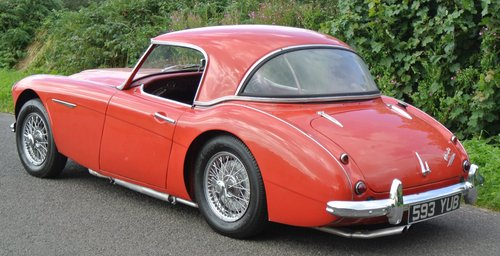 1960 AUSTIN HEALEY 3000 BT7 documented 33k miles History from new For Sale (picture 4 of 6)
