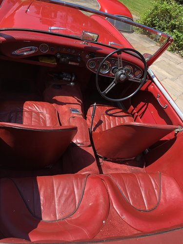 1960 AUSTIN HEALEY 3000 BT7 documented 33k miles History from new For Sale (picture 5 of 6)