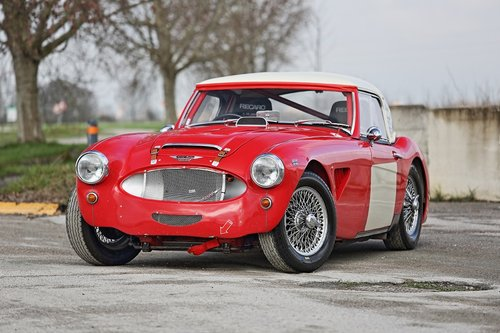 Austin Healey MKII 1962 FIA RACE For Sale (picture 1 of 6)