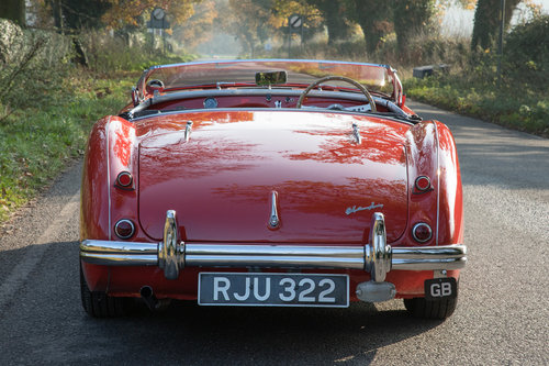 1955 Austin Healey 100 BN1 | UK RHD, Carmine Red SOLD (picture 4 of 6)