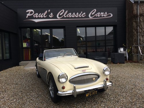 1963 Austin Healey 3000 MK2  For Sale (picture 1 of 5)