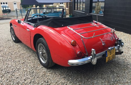 1967 Austin Healey 3000 MK3  For Sale (picture 3 of 5)