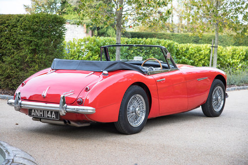 1963 Austin Healey 3000 MKIIA BJ7 | Specialist Restored SOLD (picture 4 of 6)