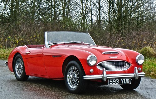 1960 AUSTIN HEALEY 3000 BT7       only 33k miles History from new For Sale (picture 1 of 6)