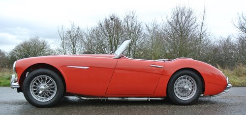 1960 AUSTIN HEALEY 3000 BT7       only 33k miles History from new For Sale (picture 3 of 6)