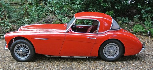 1960 AUSTIN HEALEY 3000 BT7       only 33k miles History from new For Sale (picture 6 of 6)