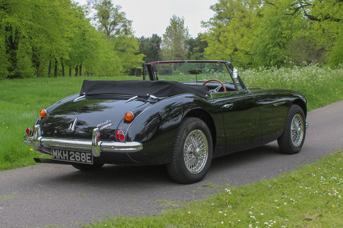 Austin Healey 3000 MkIII BJ8 | Upgraded Low Mile Restoration SOLD (picture 4 of 6)
