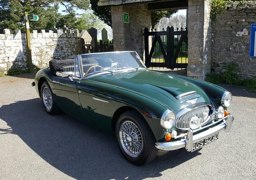1966 Award winning Austin Healey 3000 MK111 For Sale (picture 3 of 6)