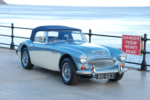 Austin Healey 3000 Mk 3 BJ8 phase 2 1965 SOLD (picture 1 of 6)