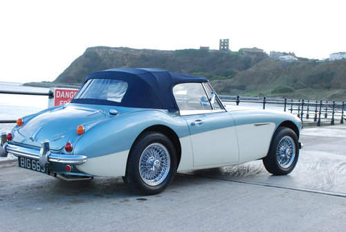 Austin Healey 3000 Mk 3 BJ8 phase 2 1965 SOLD (picture 3 of 6)