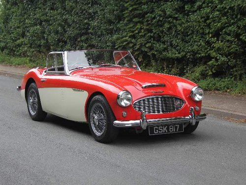 1959 Austin Healey 3000 MKI - 30k miles of touring since 91 SOLD (picture 1 of 6)
